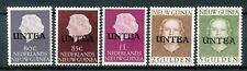 Nederlands Nieuw Guinea Untea 34 - 38 postfris (tweede druk)