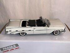 1:24 Danbury Mint 1959 Pontiac Bonneville Convertible White Ivory New
