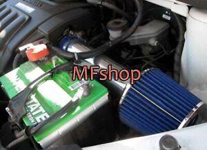 Blue For 2009-2013 Honda Pilot 3.5L V6 LX EX EX-L Sport Air Intake Kit + Filter