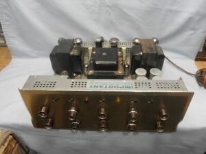 <>Rare 1960 Scott 272 Fifteen tube Quad EL34 72 Watt Tube Amplifier-Serviced NR
