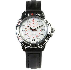 VOSTOK Russian Commander's Black Mechanical Wristwatch 2414/811171