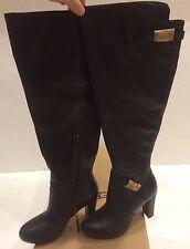 UGG Ladies ADYSON Black Leather Boots Size US 5 UK 3.5 1008702 W $275.00 NEW!