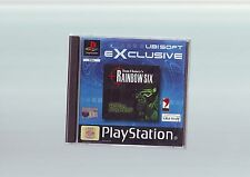 RAINBOW SIX - FPS SHOOTER PS1 GAME / PS2 PS3 COMPATIBLE - FAST POST COMPLETE VGC