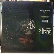"""Massive Lust – Never NEW Filtered Records FIL-142 VINYL 12"""" HOUSE"""