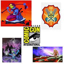 Masters Of The Universe He-Man SDCC 2010 Exclusive 4 Art Prints MotU Mattel