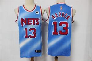 Men's Brooklyn Nets James Harden Light Blue 2020/21 Jersey - Classic Edition