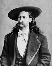 "New 8x10 Photo: James Butler ""Wild Bill"" Hickok, Folk Hero of American Old West"