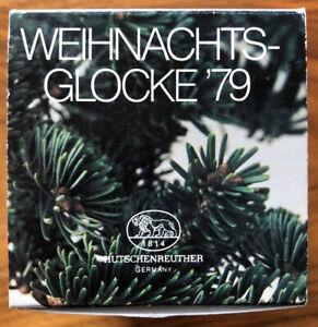 Hutschenreuther Weihnachtsglocke '79 Weihnachten im Alpenland Defekt siehe Foto
