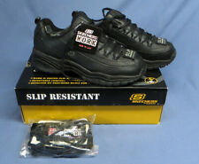Women's Sketchers for Safety Size 11 Softie Black Work Sneakers NWT