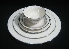 LENOX Fine China  USA  PROMISE Pattern 1- 5 PC PLACE SETTING  First Quality  EXC
