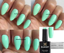 Bluesky A47 Mental MINT Pastel Green Summer Nail GEL Polish LED UV Soak off