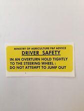 Leyland warning sticker / decal 245 262 272 282 2100 472 482 255 270 253 344 384