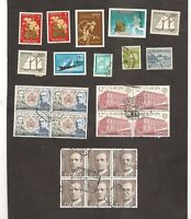 Interesting World Mix Stamps to Check Lot Spain Blocks. Macau, Singapore,.Korea