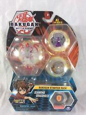 Spinmaster Bakugan Battle Planet Diamond Dragonoid Starter Pack Rare MoC MiP