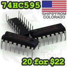 SN74HC595N Bit-Shift Register for Clocks LEDs Arduino TTL Segment Displays