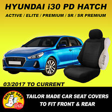 Car Seat Covers To Fit HYUNDAI i30 PD Front & Rear 03/2017 -Current Airbag Safe!