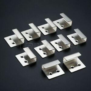 Stainless Steel Wall Hanger Bracket Rack Holder Glass Board Ceramic Tile Display