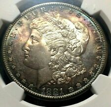 🔥 1881-S 🔥 PCGS MS66 🔥 Morgan Dollar Target Rim / Edge Toned both sides 🔥
