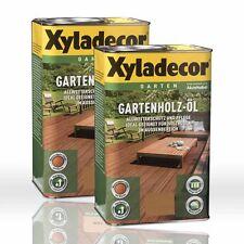 2 x 2,5l Xyladecor Gartenholz-Öl Natur natur dunkel Holzöl Gartenöl
