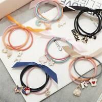 Cute Ribbon Rope Cute Hair Ties Ring Bow Elastic Hair Band Hair Accessories Gift