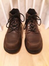 RED WING LEATHER 8662 LACE UP ANKLE WORK BOOTS LIGHTWEIGHT Size 9 D EUC