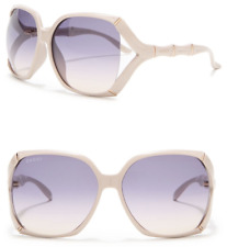 35cdf2dce9 GUCCI Bamboo Square Sunglasses GG 3508 S Gold White Ivory Violet  GradientGG0505S
