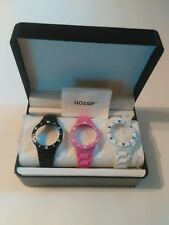 Gossip Polycarbonate Interchangeable Watch Straps And Bezels With Case New