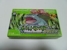 Pokemon vert feuille  - GAME BOY ADVANCE - JAP - complet