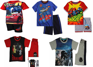 Kids Boys T.shirt+Shorts Outfit Sets Unisex Cotton Short Sleeves Sets 2 3 4 5 8Y