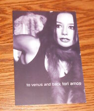 Tori Amos To Venus and Back Postcard Promo 6x4