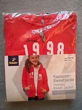 Kapuzen-Sweatjacke Jacke TCM Gr. 110-116 NEU