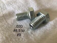 Lead Shot Maker - Set of 2 (.020 Steel Single Dripper 1 hole) Reloading nozzles