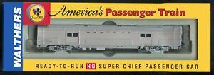 Walthers HO Scale Santa Fe Super Chief Budd 73' Baggage #932-9002
