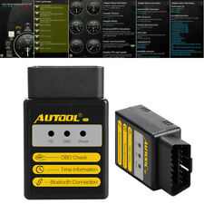 AUTOOL C1 V1.5 Bluetooth OBD2 Engine Fuel System Status Scanner for Android IOS