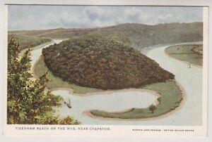 Wales postcard - Tidenham Beach on the Wye, near Chepstow (A362)