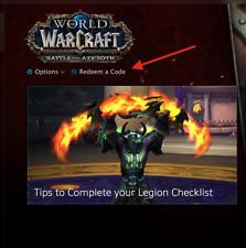 5x (Five) World of Warcraft: Battle for Azeroth Beta Keys - WoW BFA Keys