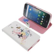 Custodia Per Acer Liquid Z630 Book-Style Protettiva Cellulare Farfalla