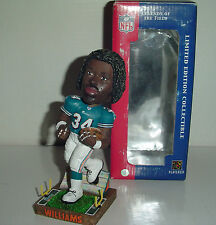 RICKY WILLIAMS #34 MIAMI DOLPHINS BOBBLEHEAD RARE AS IS SALE LICENSED GIFT