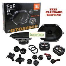 """NIB JBL GTO8608C 420W 6""""x 8"""" / 5""""x7"""" 2-Way Car Stereo Component Speakers System"""