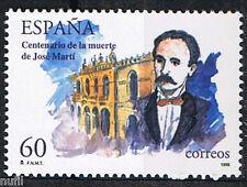 Spain Edifil # 3358 ** MNH  Fallecimiento de Jose Marti