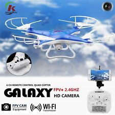 New HD WIFI Camera FPV 2.4Ghz 4CH 6-Axis RC Quadcopter Drone MP RTF Explorer