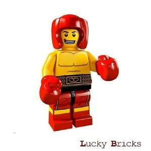 LEGO Minifiguren 8805 - Serie 5 Figur 13 - Boxer + M5 F13 +