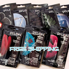 "FREE SHIPPING! BUY 1 GET 1 50% OFF DYLON ""PERMANENT FABRIC DYE"" 1.75 oz / 50g"