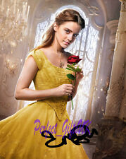 Emma Watson Beauty and the Beast SIGNED AUTOGRAPHED 10X8 REPRO PHOTO PRINT