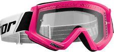 New 2017 Thor Combat Anti-Fog MX SX ATV Race Motocross Riding Goggles 8 Colors