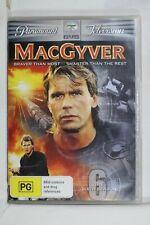 MacGyver : Season 6 (Dvd, 2008, 6-Disc Set) Reg 4 Like New (D654)