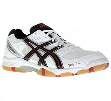 Asics Gel Task White / Black / Red Volleyball Squash Indoor Court Shoes Trainers