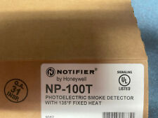Notifier Np 100t Photoelectric Smoke And Heat Detector