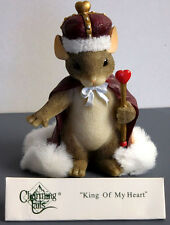 "Charming Tails, Fitz And Floyd, ""King Of My Heart"" Item 84/113"