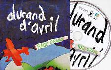 CD CARTONNE CARDSLEEVE COLLECTOR 10T DURAND D'AVRIL RADIO ORANGE 2012 TBE